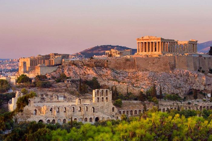 Athens - điểm đến của nhiều công trình cổ