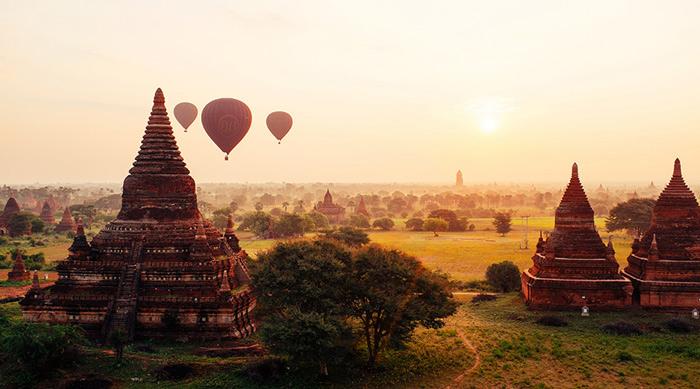 Thời điểm du lịch Myanmar thích hợp nhất là từ tháng 11 đến tháng 2 năm sau