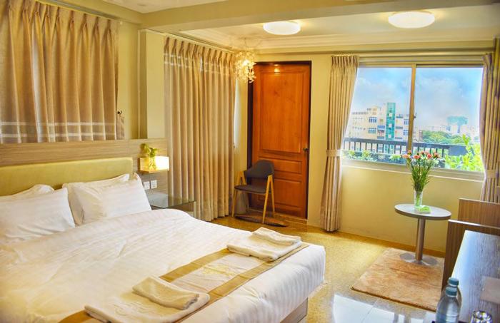 Tùy vào điều kiện để chọn khách sạn phù hợp