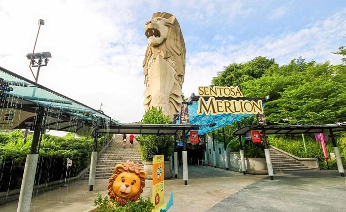 Tượng sư tử biển Merlion