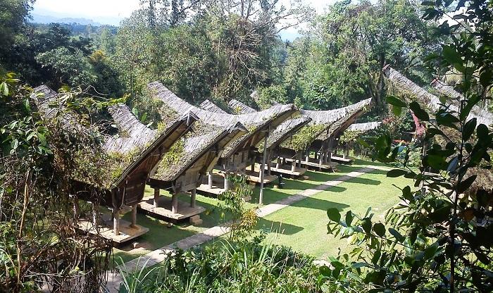 Ngồi làng Tana Toraja