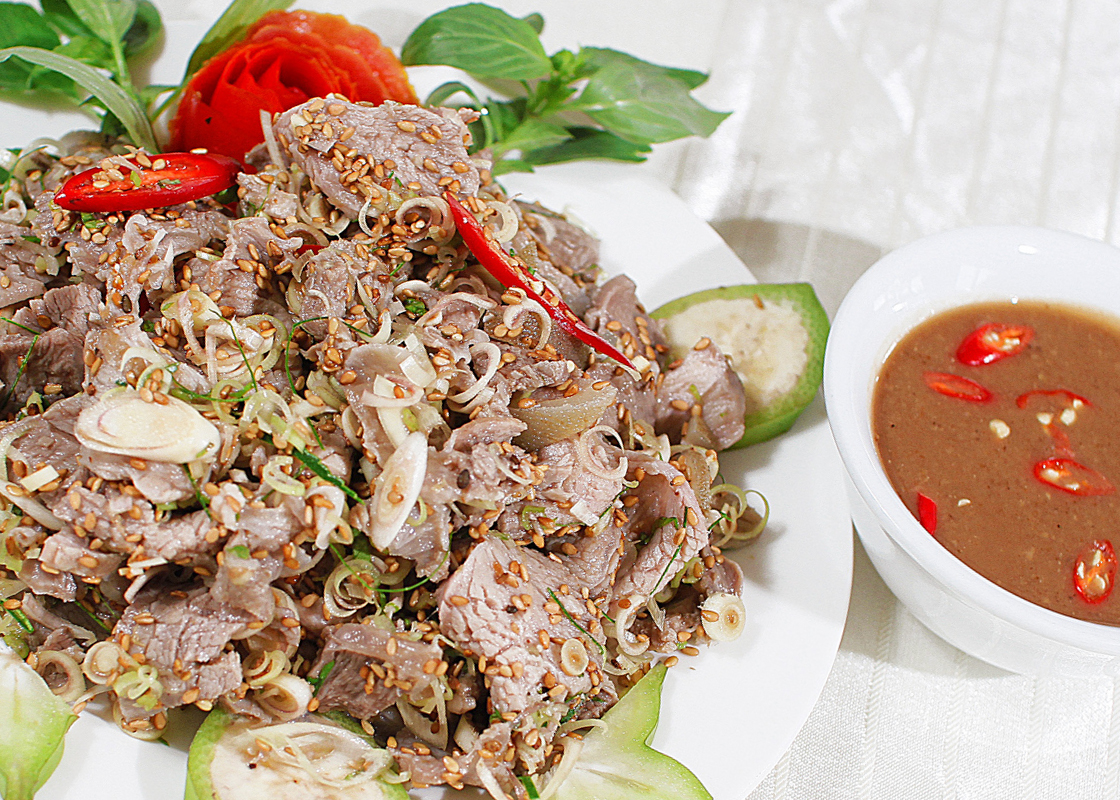 Món thịt dê núi Ninh Bình vô cùng thơm ngon hấp dẫn