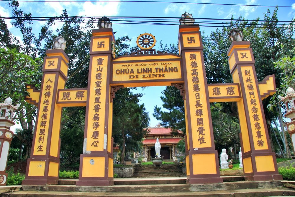 Linh Thang Pagoda