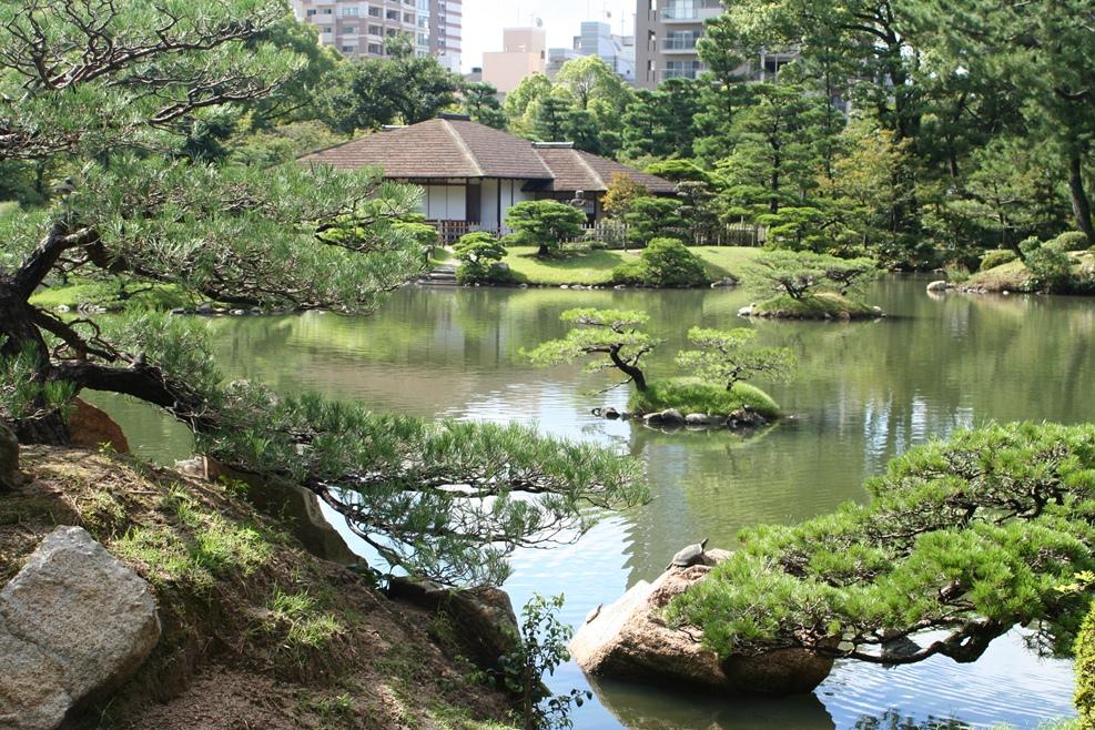 Khu vườn Shukkei – en