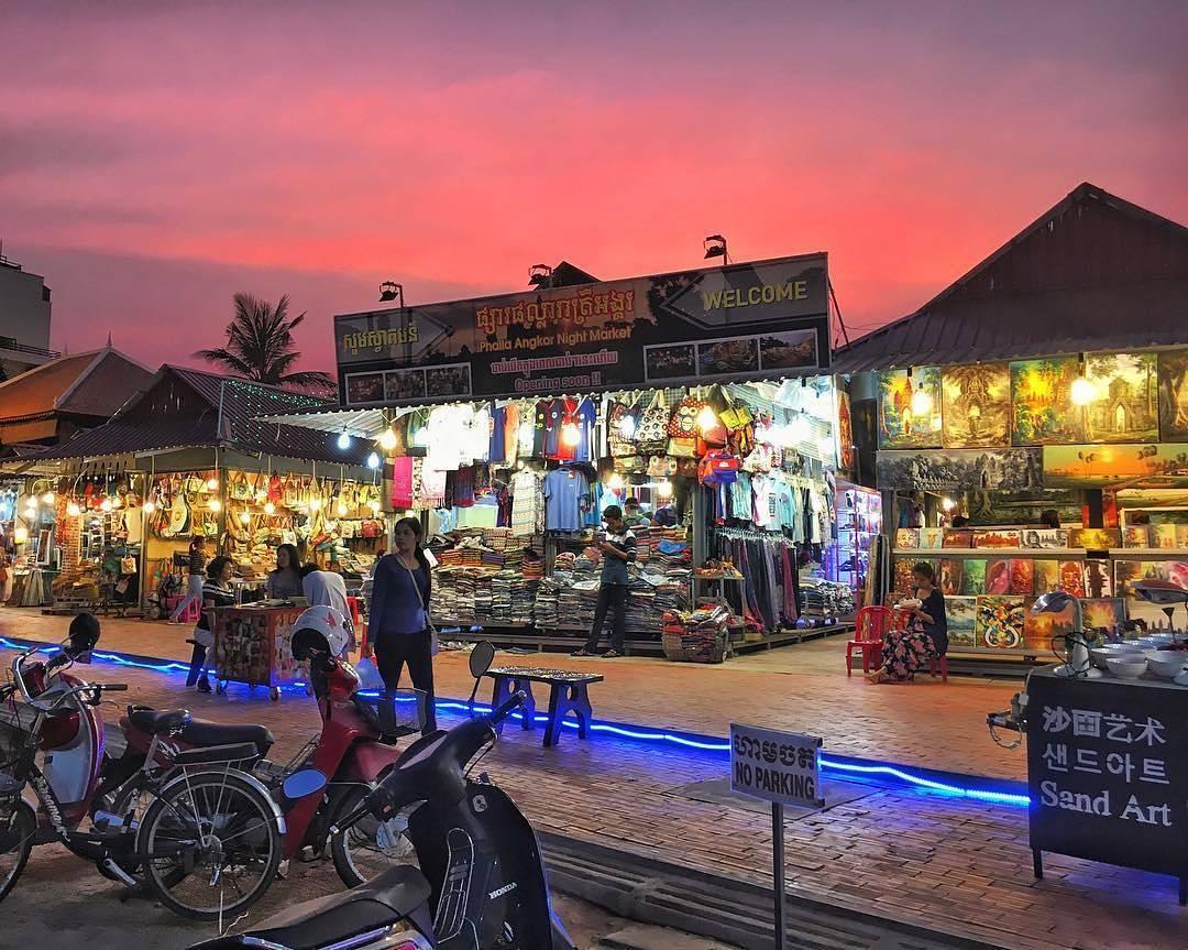 kinh nghiệm du lịch Siem Reap