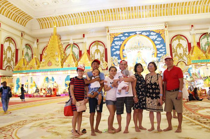 Thái Lan là điểm đến yêu thích của nhiều gia đình có con nhỏ