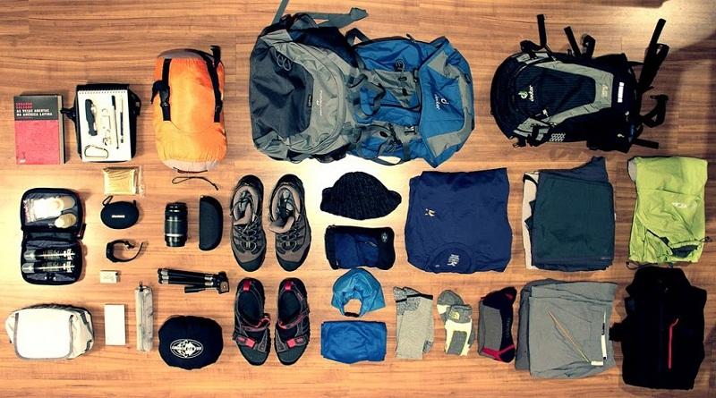 vật dụng khi đi cắm trại