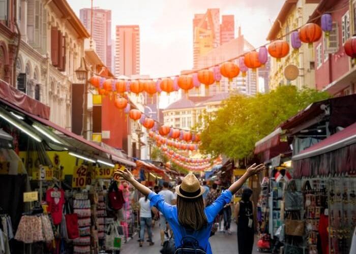 Chinatown tại Singapore