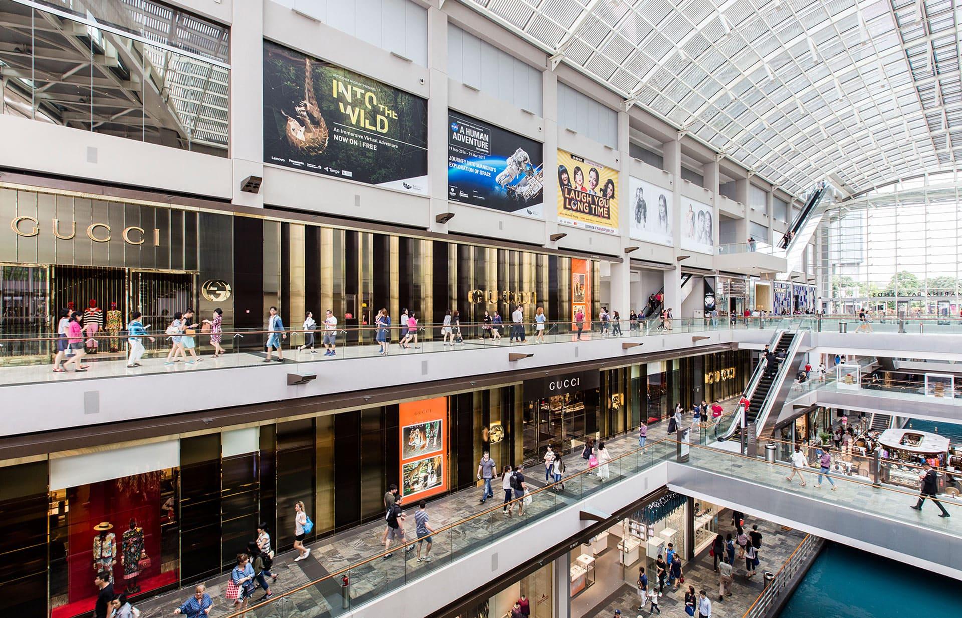Marina Bay Sands The Shoppes