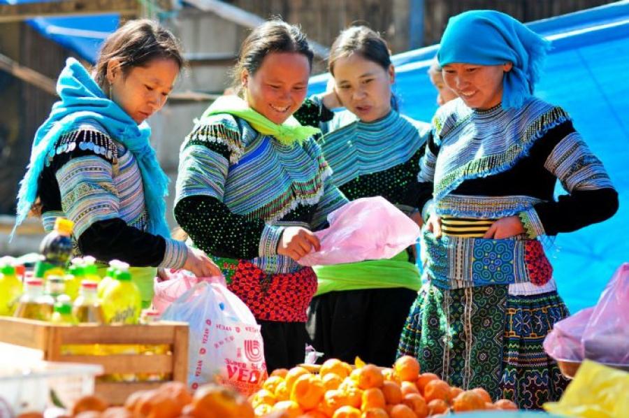 Chợ Mường Hum