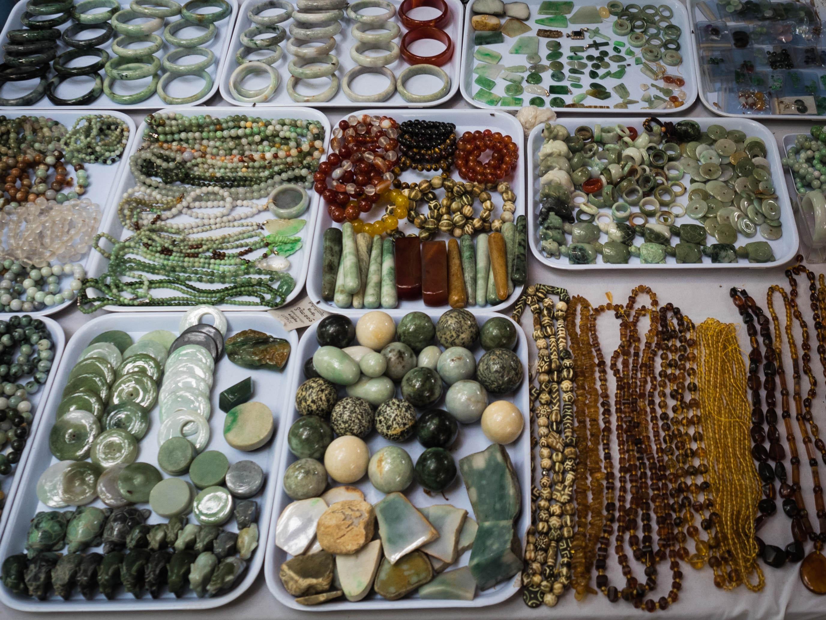 Khu chợ Mahar Aung Myay