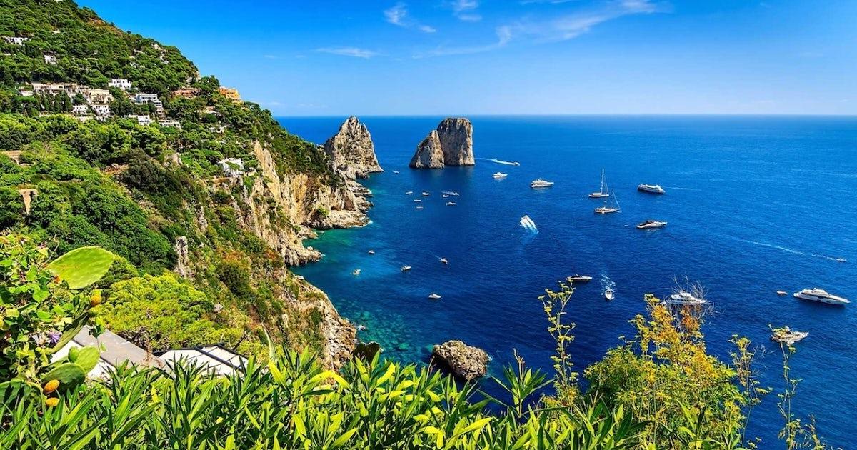 Khám phá hòn đảo Capri