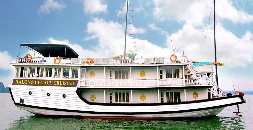 Du thuyền Halong Legacy Cruise