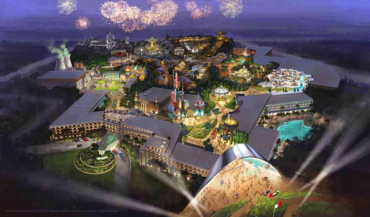 công viên 20 Century Fox Theme Park