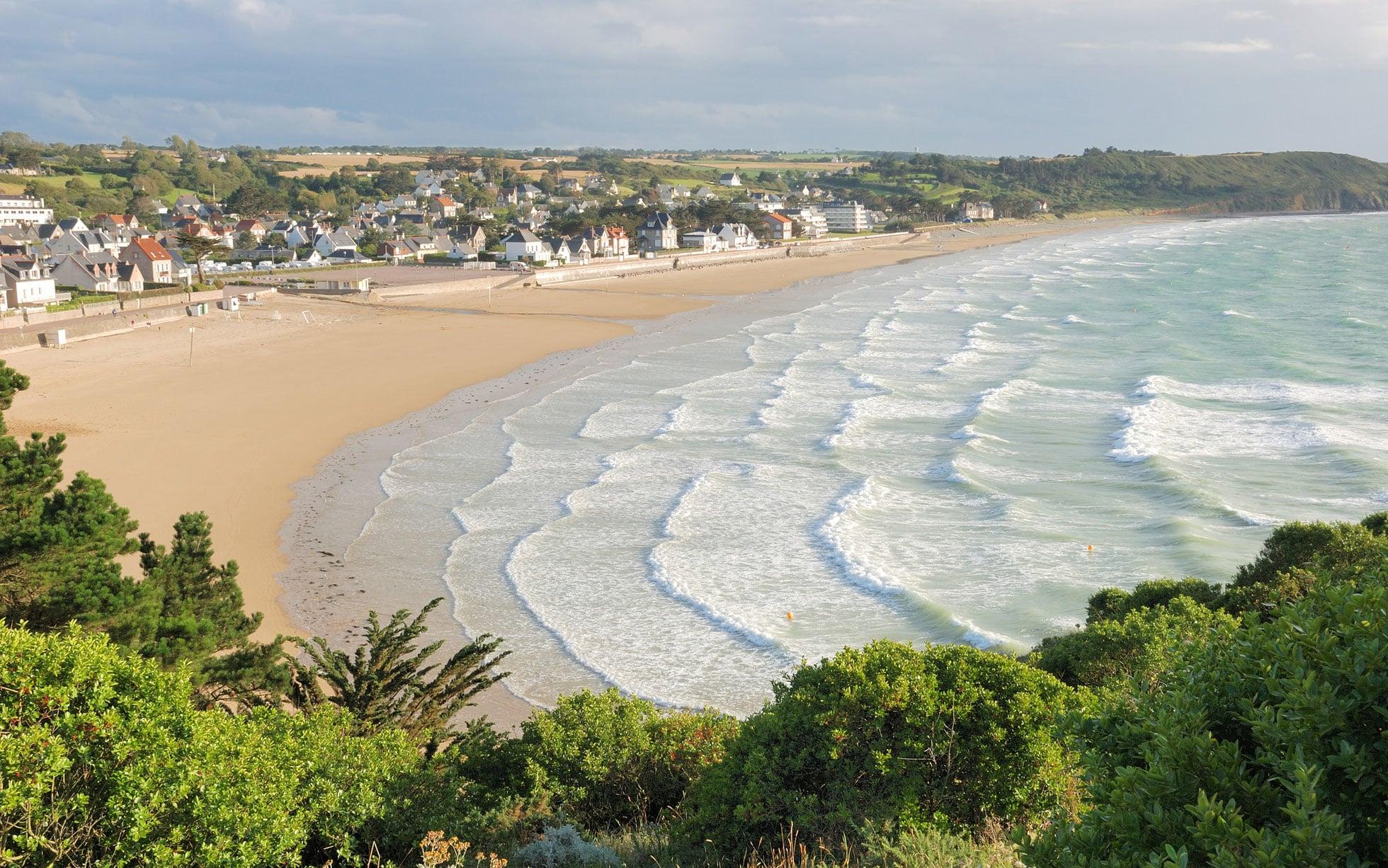 Bãi biển thiên đường Sainte – Marine, Brittany