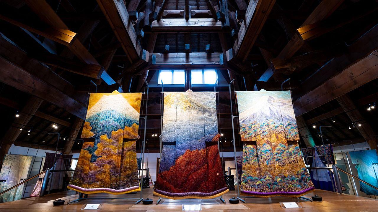 Tham quan bảo tàng Kimono Itchiku Kubota