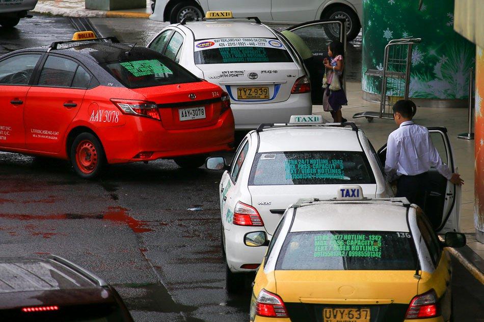 Cảnh giác khi đi xe taxi tại Manila