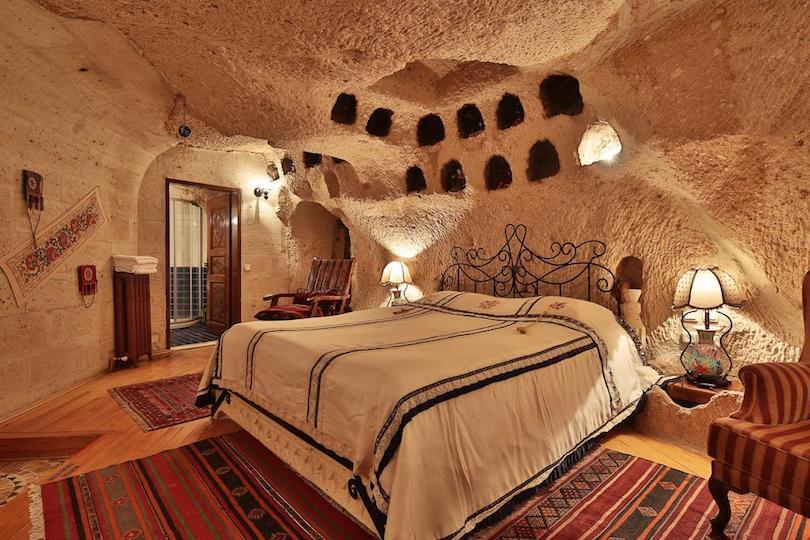 Những khách sạn hang động độc đáo tại Cappadocia