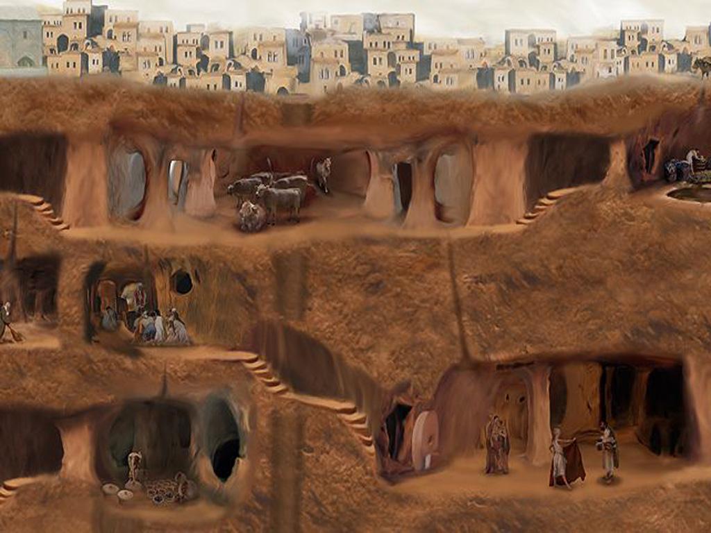 Khám phá thành phố dưới lòng đất