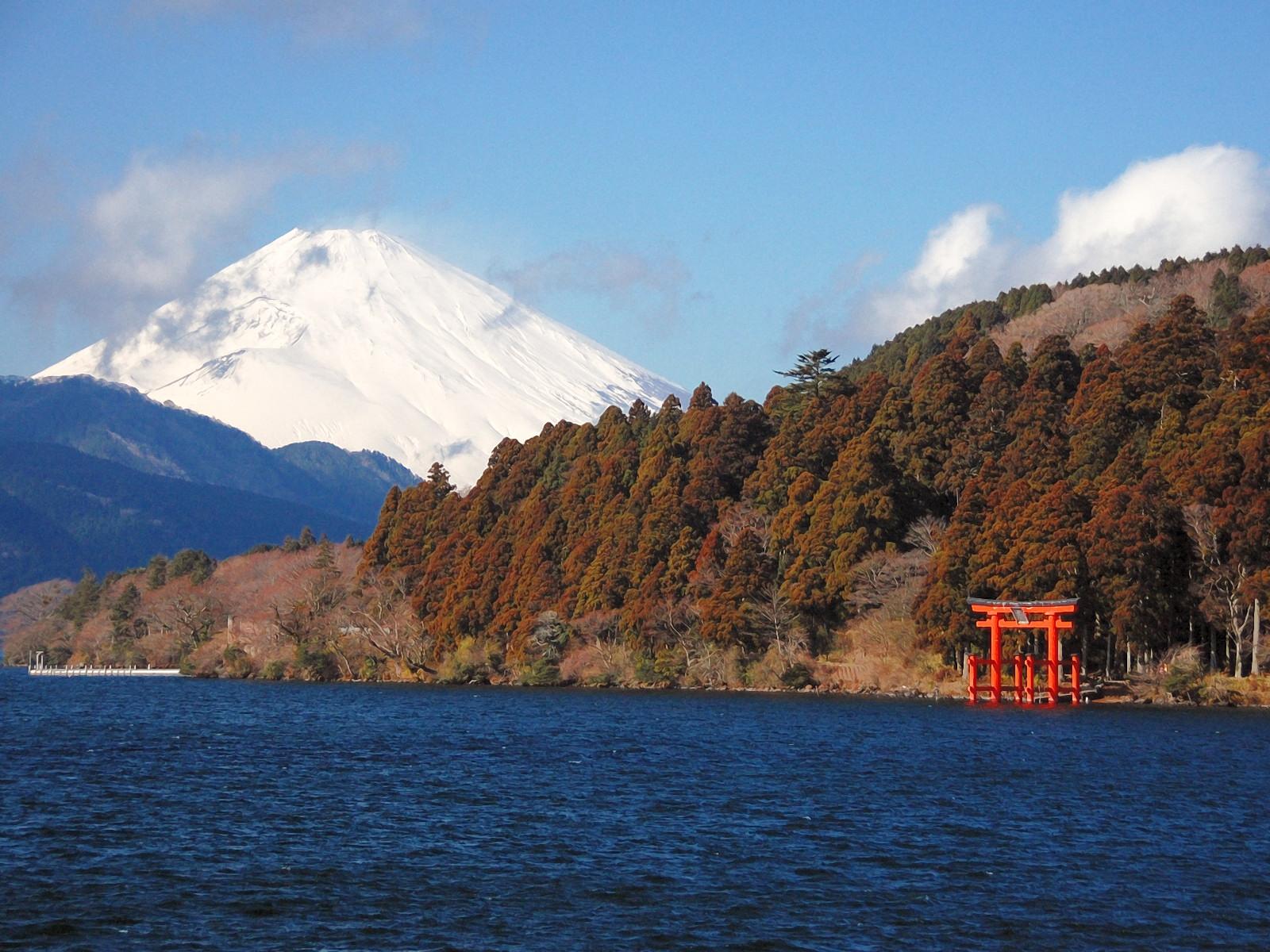 Vẻ đẹp nên thơ của hồ Ashinoko tại Hokane