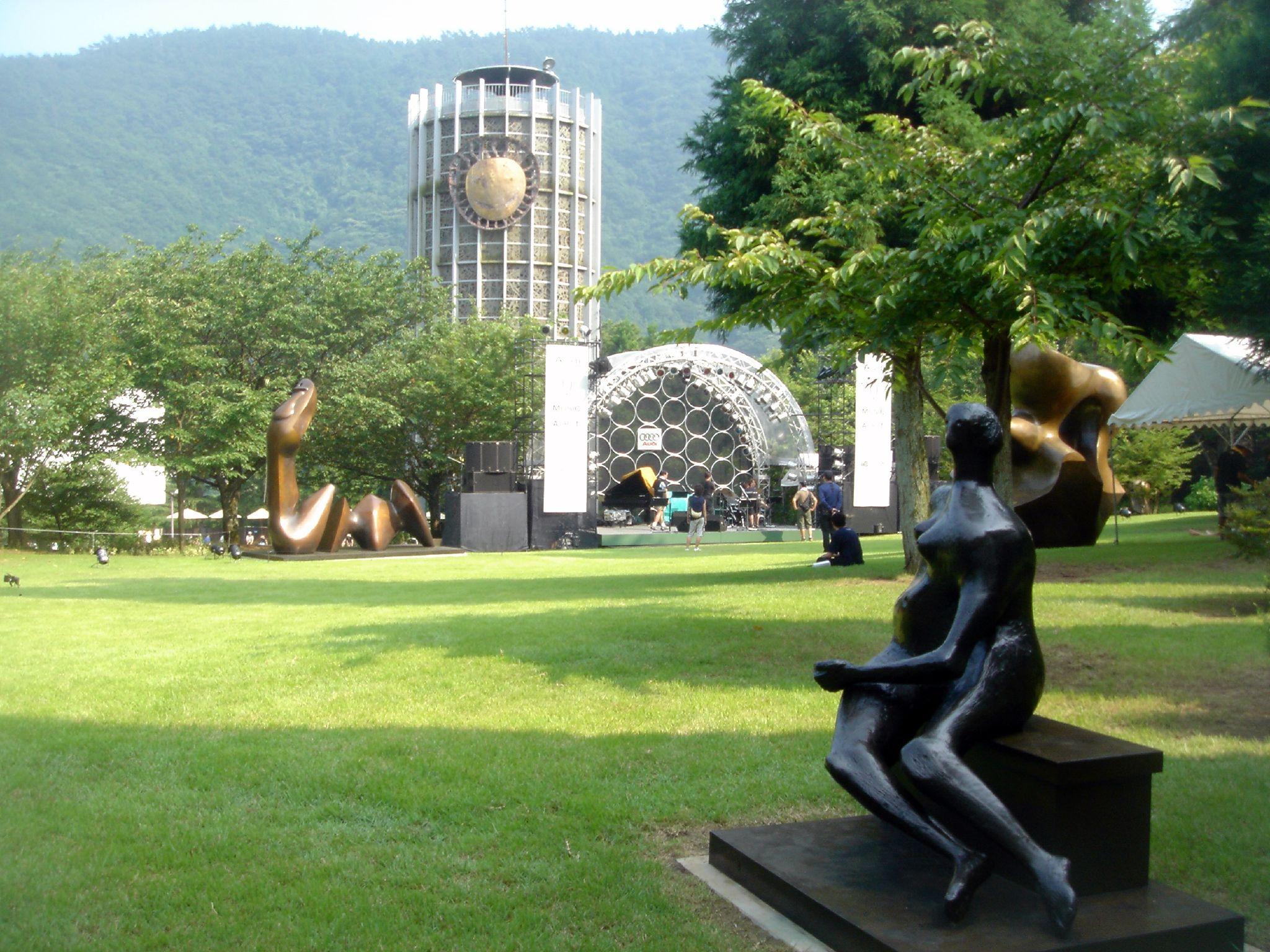 bảo tàng mỹ thuật ngoài trởi Hakone
