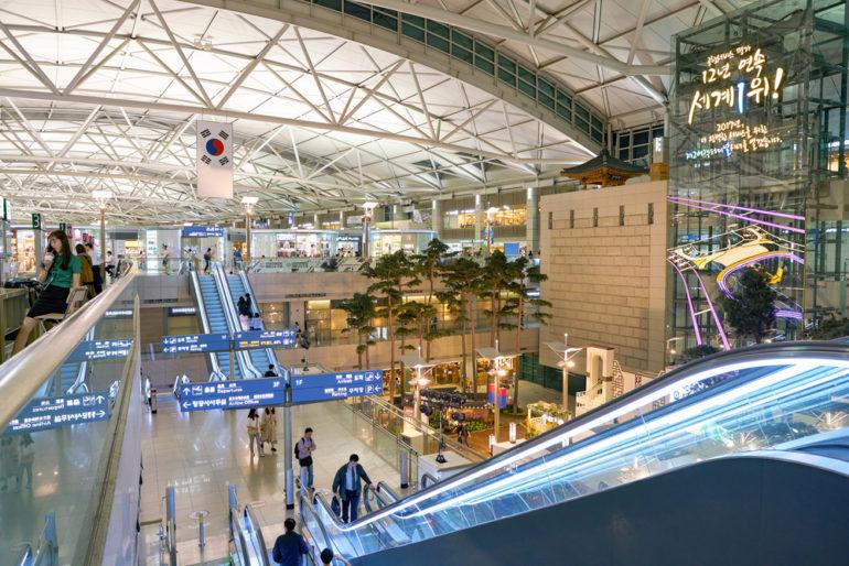 Sân bay Incheon được đánh giá là một trong những sân bay tốt nhất thế giới