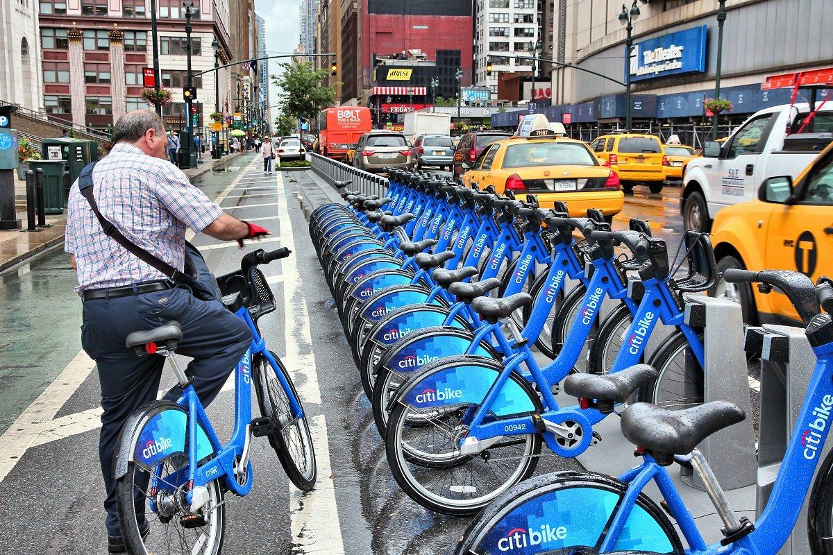 Dịch vụ cho thuê xe đạp rất phổ biến tại Trung Quốc