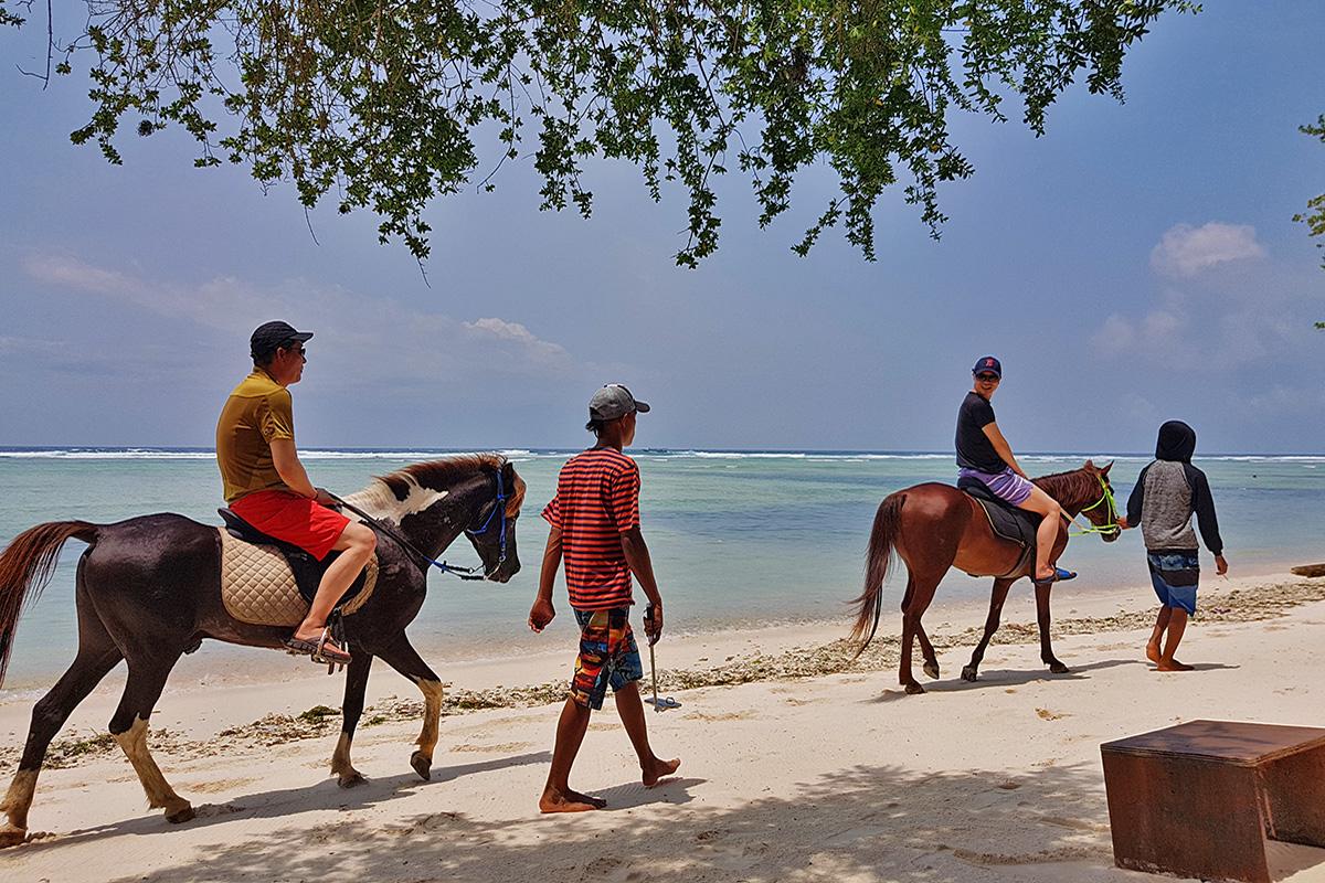 Cưỡi ngựa trên bãi biển là một trải nghiệm tuyệt vời