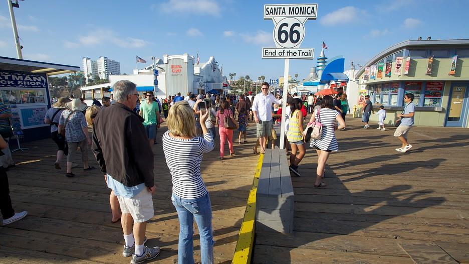 Cầu cảng Santa Monica