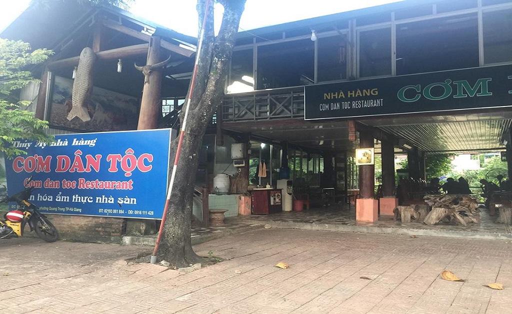 những quán ăn ngon tại Hà Giang