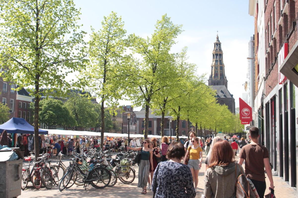 Khu phố cổ Groningen