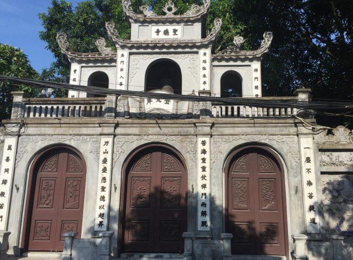 những ngôi chùa nổi tiếng tại Hà Nội